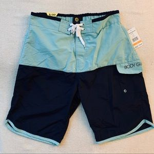 🆕 Body Glove Men's Scallop Colorblock Boardshorts
